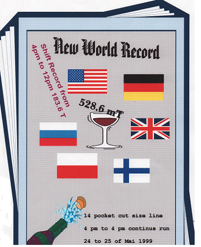 world record paper cutting